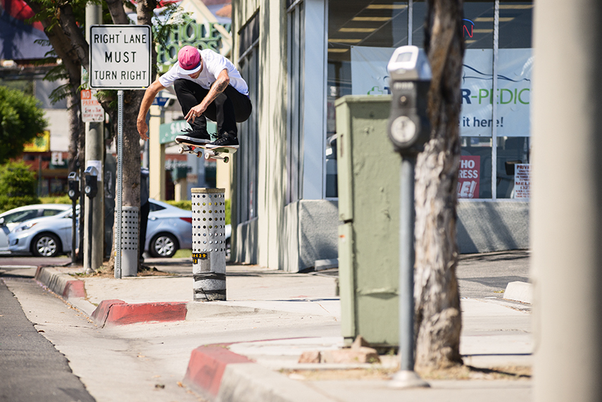 Andrew Brophy, Ollie around the corner from my house. I love when I don't have to leave the neighborhood to shoot a photo. We need Brophy back in the hood!
