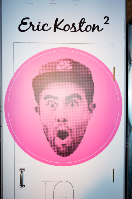 Nike had a big party for Koston's new shoe release last night.
