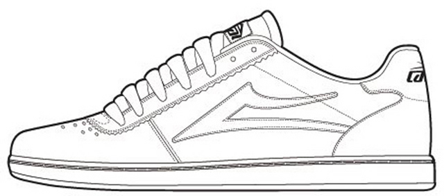 Line Drawing Shoes : Since all you guys like photoshopping shoes emerica this