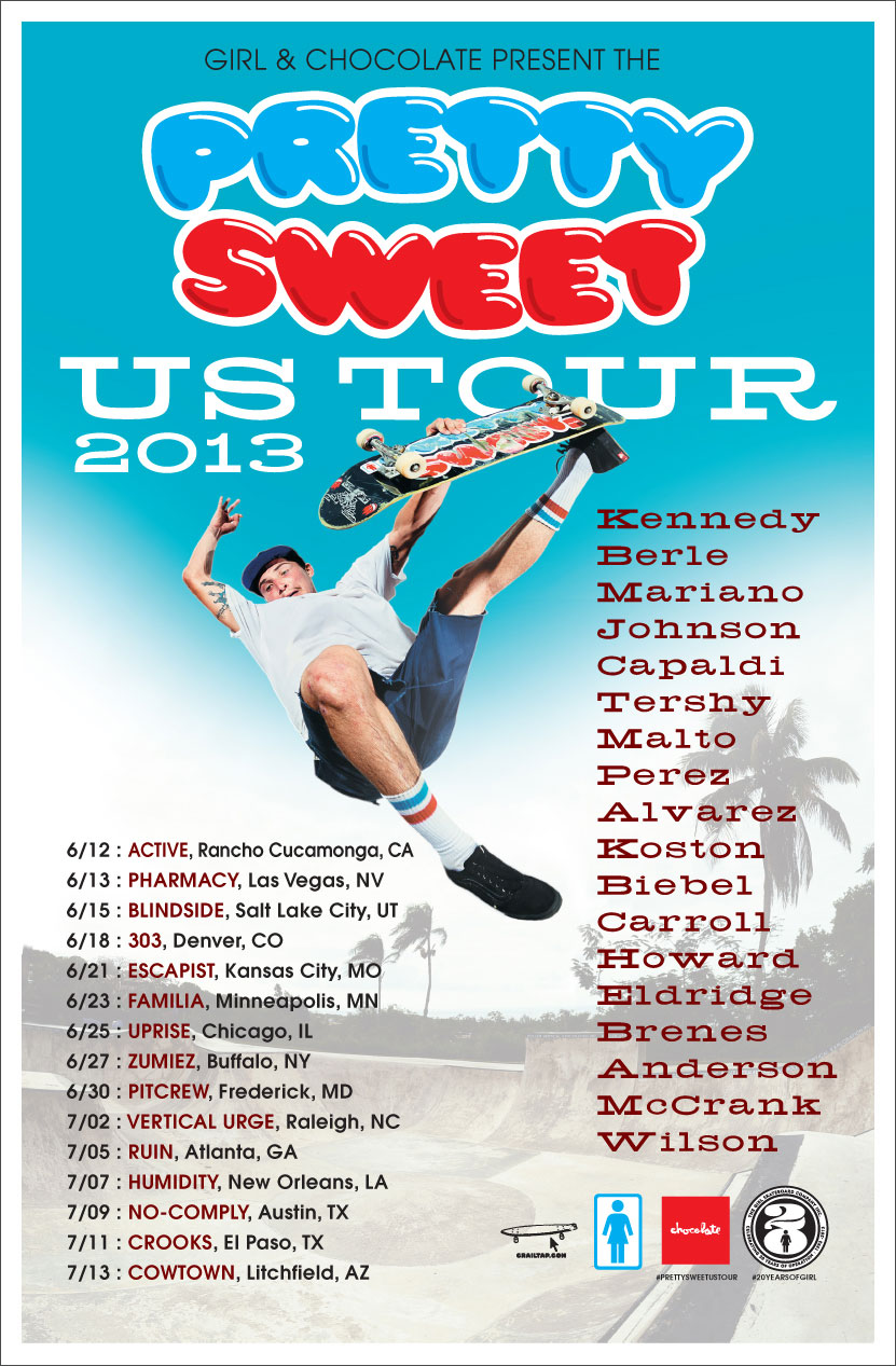 Pretty Sweet US Tour 2013