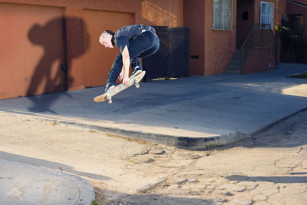 Unfortunately right when Cory snapped this phat street grab a car came by and blocked both the filmers.