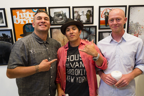 Hosoi was there! He was tripping on a photo of Kenny impersonating him.