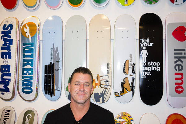 Tony Larson with one of my favorite board series