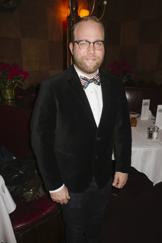 Eric Anthony was dressed to kill last night, Bill Nye science guy styles.