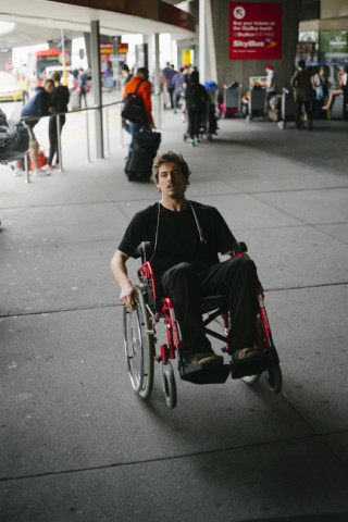 After the flight to Australia I think anyone could use a wheelchair.