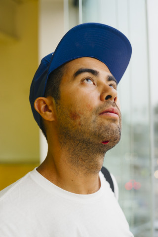 "This is what happens when ""doubles with Cory"" backfires. Koston pre-stitches."