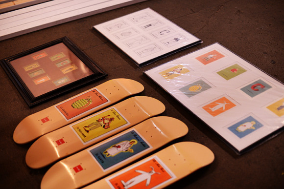 The evolution of a Hecox series. The Loteria boards from start to finish.