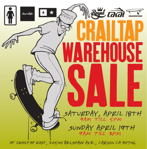CRAILTAP-warehouse-sale