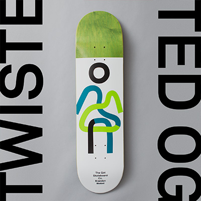 Girl Skateboards Twisted OG