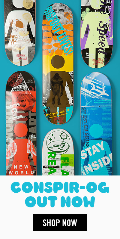 Girl Skateboards Conspir-OG Series