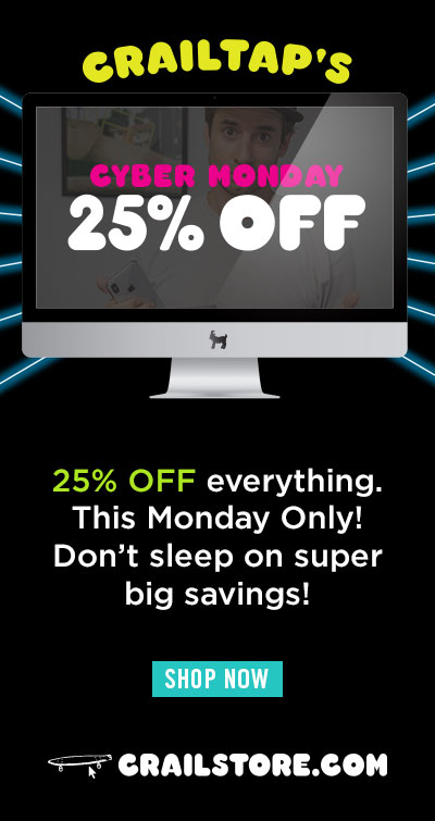 Crailstore's Cyber Monday Sale 25% OFF