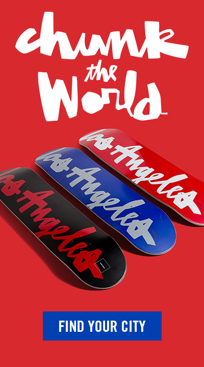 Chocolate Skateboards Chunk the World