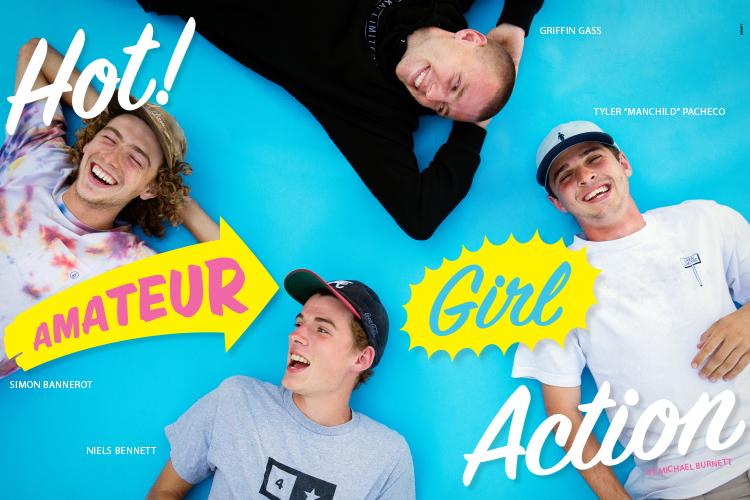 Girl Skateboards AMS - Niels Bennett Griffin Gass Simon Bannerot Tyler Pacheco