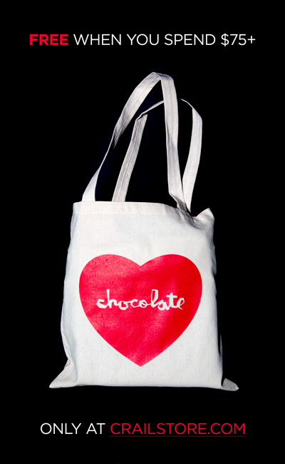 Free Chocolate Tote w/ Orders over $75
